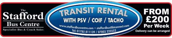 Stafford Buses Banner