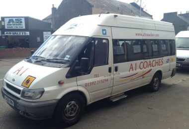 FLEET NO 6 Ford Transit T350 16 seater (1)