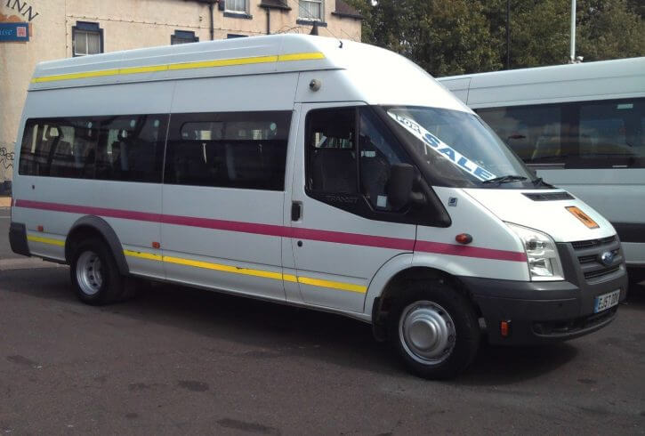 2007 Ford Transit XLWB Wheelchair Accessible Minibus - Image 1
