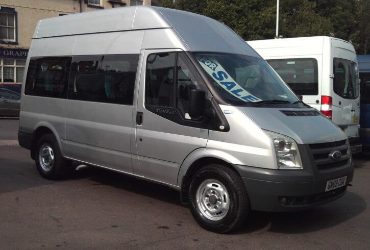 2009 09 Ford Transit Wheelchair Accessible Minibus - Image 1